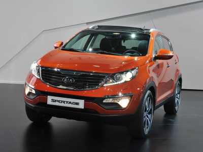 kia sportage 3 red