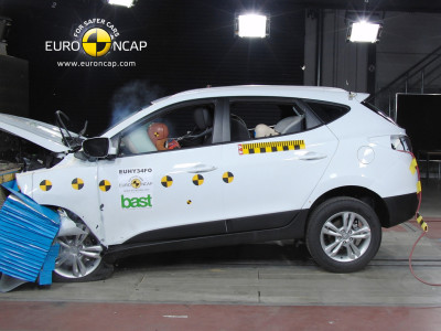 Crash test Hyundai ix35
