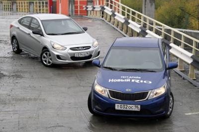 Kia rio VS Hyundai solaris