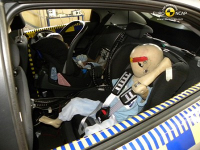 Crash test Kia Rio