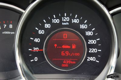 КИА Сид расход топлива бензинового двигателя